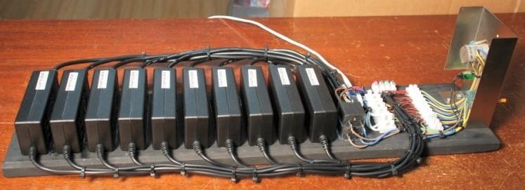 A Rife Plasma Tube RF Amplifier Power Spply from Laptop